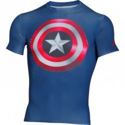 Kompresné tričko Under Armour® Alter Ego Captain America 2.0