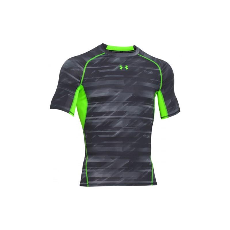 under armour heat gear. men\u0027s under armour heatgear® armour printed short sleeve compression shirt heat gear v