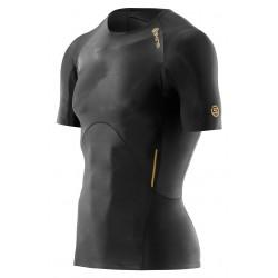 c54cc6af43 Skins A400 Mens Gold Top Short Sleeve