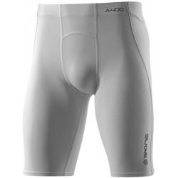 Skins Bio A400 Mens White Half Tights