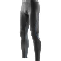Skins Bio RY400 Mens Graphite/Blue Long Tights