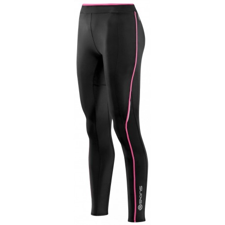 a7e09205cccce Skins Bio A200 Womens Black/Pink Long Tights - Willforge.com