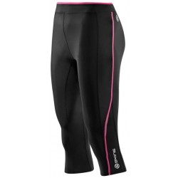 Skins Bio A200 Womens Black/Pink 3/4 Tights