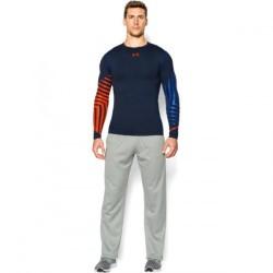 Mužské kompresné tričko s dlhým rukávom Under Armour HEATGEAR® ARMOUR EXO