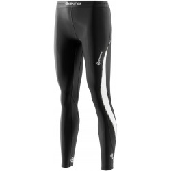 Skins DNAmic Thermal Women`s Compression Long Tights Black/Cloud