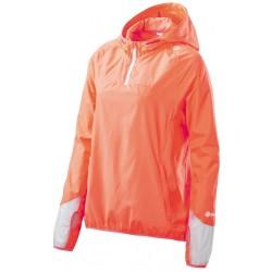 Skins PLUS Odyssey Womens Packable Jacket Atomic Tangerine