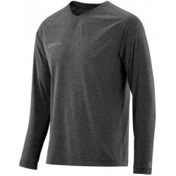 Skins Plus Micron Mens Long Sleeve Tee Black/Marle