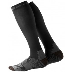 Skins Essentials Mens Active Comp Socks  Black/Pewter