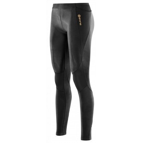 Skins A400 Womens Black Long Tights
