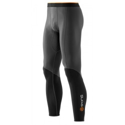 Skins Bio S400 - Thermal Mens Black/Graphite/Orange Thermal Long Tights