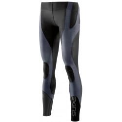 SKINS K-PROPRIUM Womens Compression Long Tights Charcoal/Black