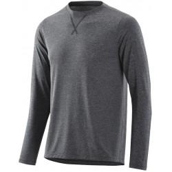 "SKINS Activewear Avatar Mens Top Long Sleeve Round Neck Black/Marle - pouze vel.""S"""