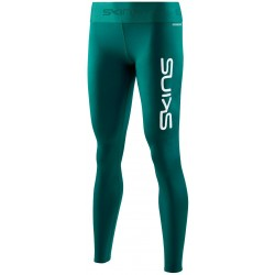 Skins DNAmic PRIMARY Womens Long Tights Deap Teal