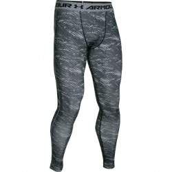 Mužské kompresné legíny Under Armour HEATGEAR® ARMOUR PRINTED