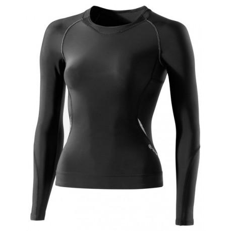 Ženské kompresné tričko Skins A400 dlhý rukáv