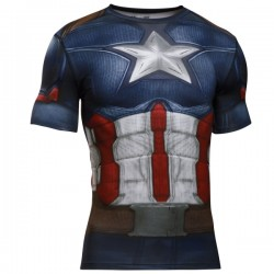 Kompresné tričko Under Armour® Alter Ego Captain America Fullsuit