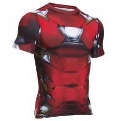 Kompresné tričko Under Armour® Alter Ego Iron Man