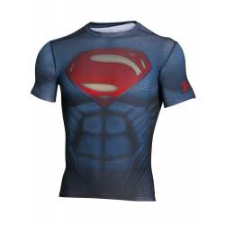 Kompresné tričko Under Armour® Alter Ego Superman Chrome
