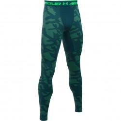 Mužské kompresné tričko s dlhým rukávom Under Armour COLDGEAR® PRINTED TOP