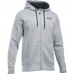 Mužská mikina na zips Under Armour CHARGED COTTON® STORM RIVAL