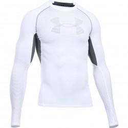 Mužské kompresné tričko s dlhým rukávom Under Armour HEATGEAR® PRINTED TOP