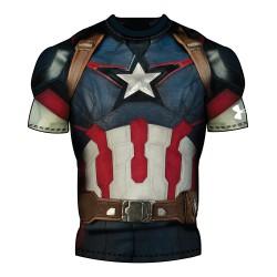 Men's Under Armour® Alter Ego Captain America Fullsuit Compression Shirt