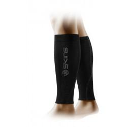 Skins Unisex kompresné návleky na lýtka Black/Charcoal mx