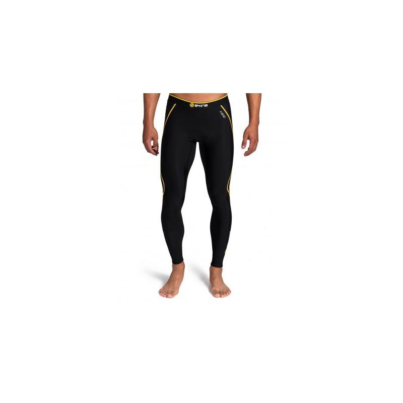 204dff23c10ec Skins Bio A200 Mens Black Thermal long tights