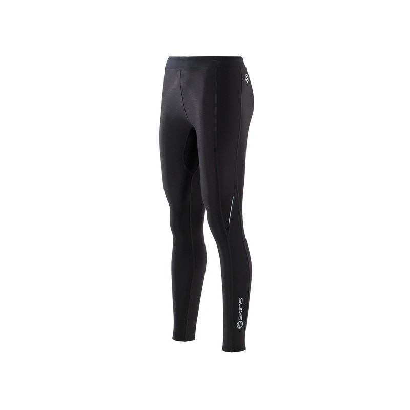 310e00a59c Skins Bio A200 Womens Black/Black Thermal long tights