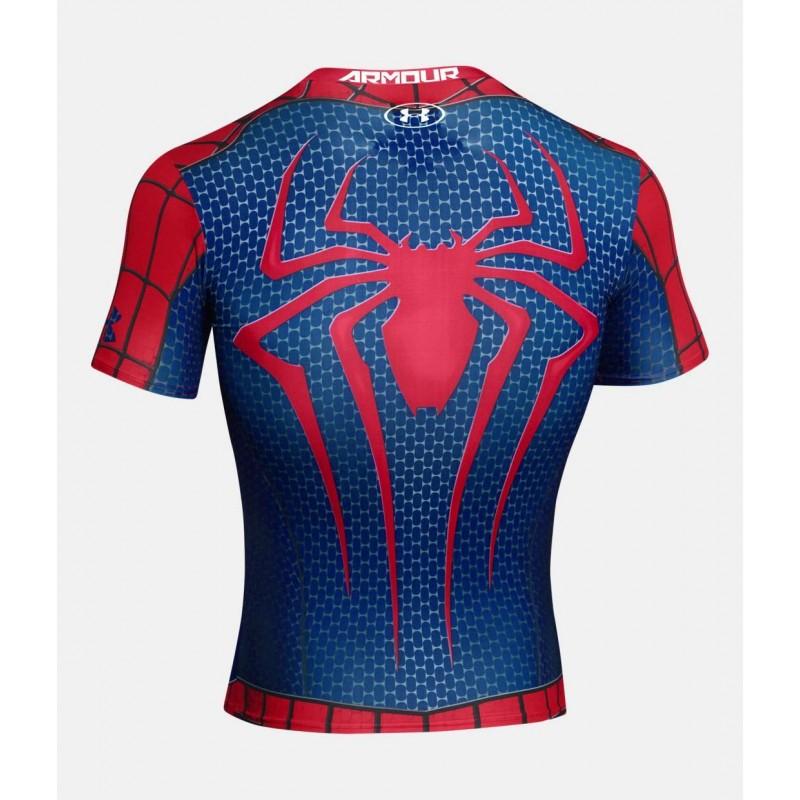under armour spiderman shirt